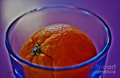 Photograph - Sinking Orange by Crystal Harman