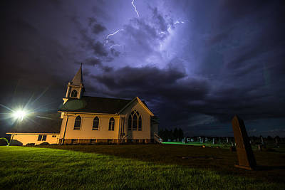 Benton Photograph - Sinners Welcome by Aaron J Groen