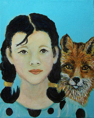 Painting - Sinopa Little Fox by The Art With A Heart By Charlotte Phillips
