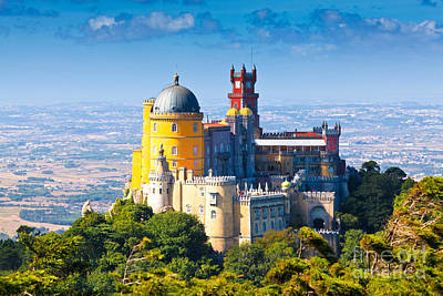 Pena Photograph - Sintra 01 by Tom Uhlenberg