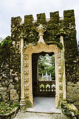 Photograph - Sintra Archway by Deborah Smolinske