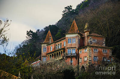 Photograph - Sintra Mansion by Deborah Smolinske