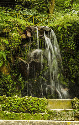 Photograph - Sintra Waterfall by Deborah Smolinske