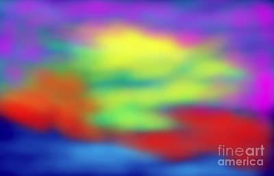 Diffusion Digital Art - Sion Diffusion Milky Way IIi  by Michael Rigoni