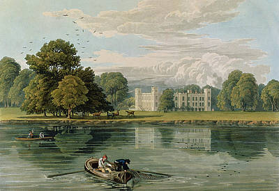 Sion House, Engraved By Robert Havell Art Print