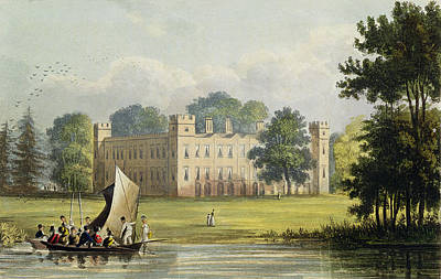 Sion House, From R. Ackermanns Art Print by John Gendall