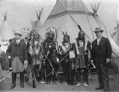 Sioux Chiefs, 1901 Art Print