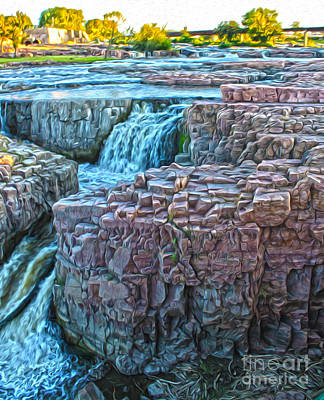 Painting - Sioux Falls - 01 by Gregory Dyer