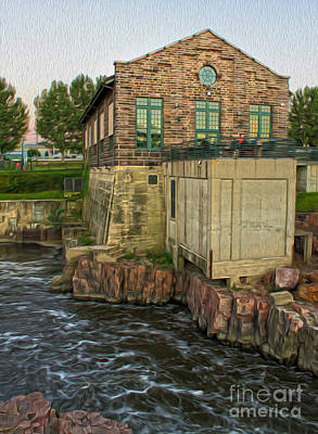 Painting - Sioux Falls - 05 by Gregory Dyer