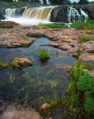 Photograph - Sioux Falls II by Ray Mathis