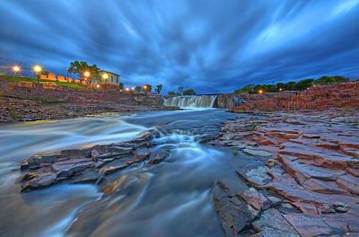 Old Mills Photograph - Sioux Falls South Dakota by Chris Allington