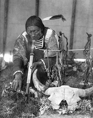 Sioux Medicine Man, C1907 Art Print