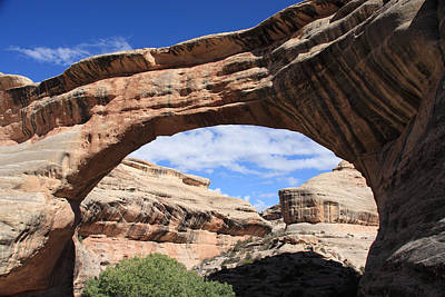 Photograph - Sipapu Bridge - Utah by Aidan Moran