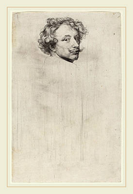 Flemish Drawing - Sir Anthony Van Dyck Flemish, 1599-1641 by Litz Collection
