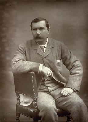 Sir Arthur Conan Doyle Art Print by British Library