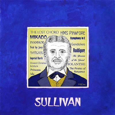Sir Arthur Sullivan Art Print by Paul Helm