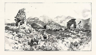 Sir Charles Euan-smiths Mission To The Court Of Morocco Art Print by Moroccan School