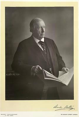 Sir Charles Halle Art Print by British Library