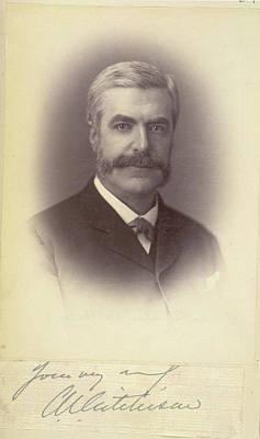 Warner Photograph - Sir Charles Umpherston Aitchison by British Library