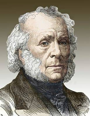 Sir David Brewster Art Print