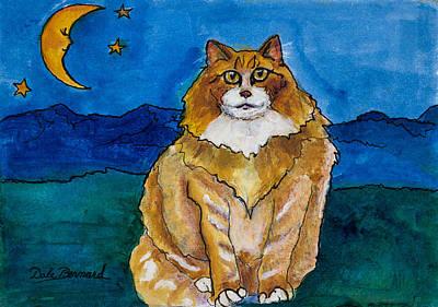 Sir Drake A Lotta Cat IIi Art Print