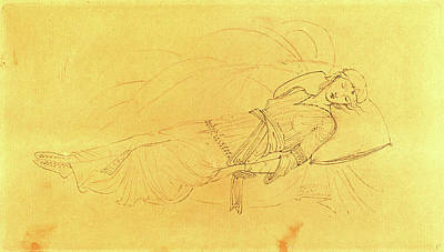 Sir Edward Coley Burne-jones, British 1833-1898 Art Print by Litz Collection