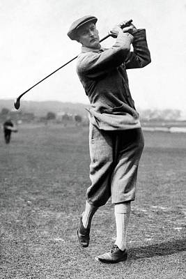 Breeches Photograph - Sir Ernest Holderness Swinging His Club by Artist Unknown