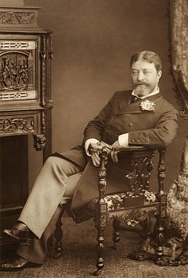 Belle Epoque Photograph - Sir Francesco Paolo Tosti by Stanislaus Walery