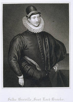 Aristocrat Photograph - Sir Fulke Greville by British Library