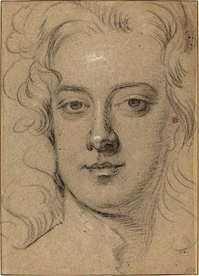 Kneller Drawing - Sir Godfrey Kneller English, 1646 - 1723 by Quint Lox