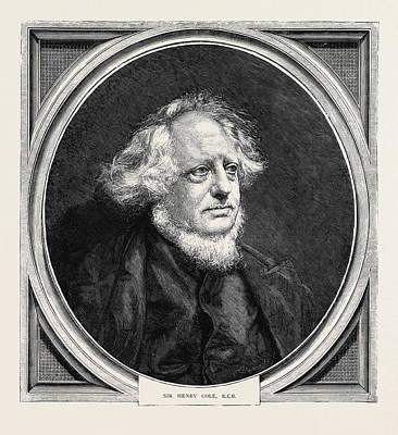 Sir Henry Cole, K.c.b Art Print by English School