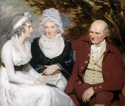 Raeburn Painting - Sir Henry Raeburn, John Johnstone, Betty Johnstone by Litz Collection