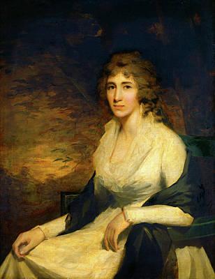 Raeburn Painting - Sir Henry Raeburn, Mrs. George Hill, Scottish by Litz Collection
