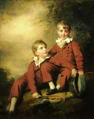 Raeburn Painting - Sir Henry Raeburn, The Binning Children, Scottish by Litz Collection