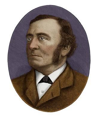 Sir Henry Roscoe Art Print by Maria Platt-evans