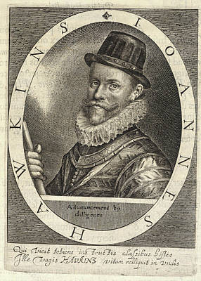 Sir John Hawkins Art Print by British Library
