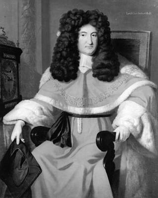 Justice Painting - Sir John Holt (1642-1710) by Granger