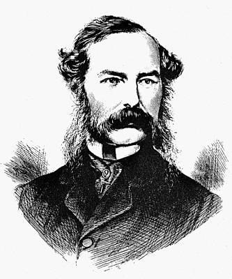 Cartoonist Painting - Sir John Tenniel (1820-1914) by Granger