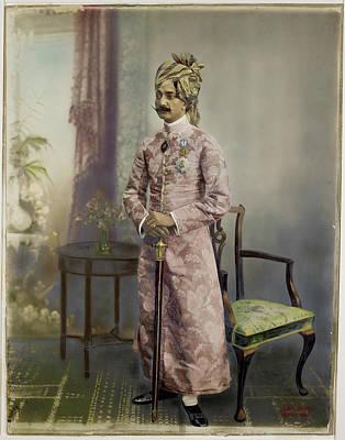 Sir Madan Singh Art Print