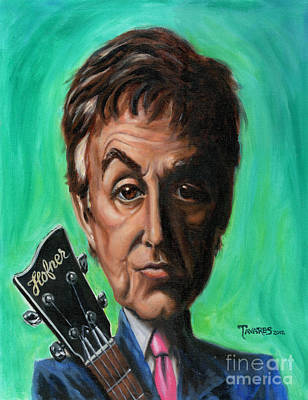 Painting - Sir Paul by Mark Tavares