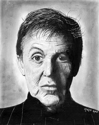 Mccartney Drawing - Sir Paul Mccartney by Mick ODay