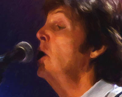 Sir Paul Art Print by Michael Pickett