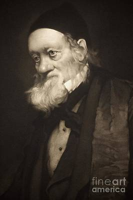 Darwin Fossils Photograph - Sir Richard Owen In Old Age, 1889 by Paul D. Stewart
