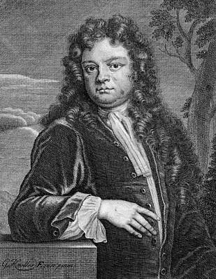 Steele Drawing - Sir Richard Steele (1672-1729) Irish by Mary Evans Picture Library