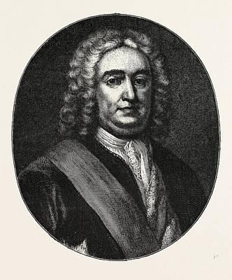 Sir Robert Walpole, He Was A British Statesman Who Art Print by English School