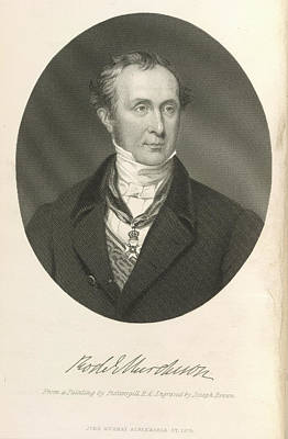 Geologist Photograph - Sir Roderick Impey Murchison by British Library