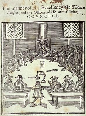 Sir Thomas Fairfax Art Print