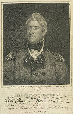 Etc. Photograph - Sir Thomas Picton by British Library