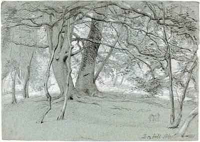 Blake Drawing - Sir William Blake Richmond British, 1842 - 1921 by Quint Lox