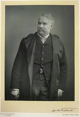 Gilbert Photograph - Sir William Schwenck Gilbert by British Library